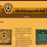 Homepage der Altschützengesellschaft Velden