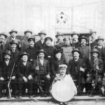 Altschützen im Jahr 1909
