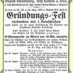 Gründungsfest Schützengau 78 Velden
