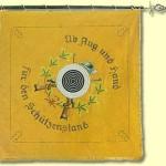 Fahne von 1978, Vorderseite