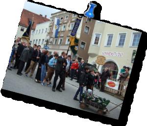 Altschützen Velden - Volksfestauszug 2013