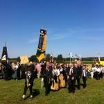 Fahnenabordnung der Altschützen Velden zum 125 jährigen Gründungsfest der FFW Ruprechtsberg