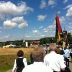 Festzug zum 125 jährigen Gründungsfest der Freiwilligen Feuerwehr Ruprechtsberg - mit Festzelt in Mariaberg
