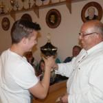 Der Jugendwanderpokal ging 2015 an Martin.