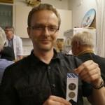 Andreas mit einem der Preise aus dem Preisschießen der Erwachsenen, die durch Edi und Woife gestiftet wurden.