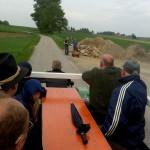 im Bild oben: bei den Almenrausch Schützen Velden hat es nur zu einem Bollerwagen gereicht