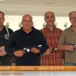 (v.l.): H.Lanzinger, R.Pitz, F.Reisenwedel, G.Unterreithmeier (in der Klasse 2)