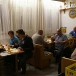 Altschützen Velden: Einschreibung und Bewirtung im Stüberl