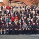 Gauschießen bei BaL Frontenhausen - Die Altschützengesellschaft Velden war bei der Eröffnungsfeier zum Gauschießen, verbunden mit dem Ndb. Bundesschießen vom 2. – 17 Oktober 2004, als Patenverein mit einer stattlichen Fahnenabordnung vertreten.