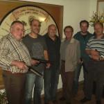 RWK-Mannschaft Luftpistole, (v.l.): M.Pitz, F.Reisenwedel, R.Pitz, M.Kreisel, H.Lanzinger, G.Unterreithmeier