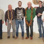 einige Preisträger Erwachsene (v.l.): Robert, Josef, Wolfgang, Albert, Eduard, Andreas