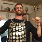 Schützenkönig 2016: Wolfgang - sein besonderes Geheimnis war vor dem Schießen zur Blutspende zu gehen