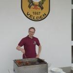 Grillmeister Andreas von den Altschützen Velden