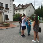 Das Rathaus war auch einer der aufzusuchenden Orte.