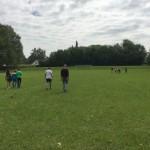 Sportplatz Turnhalleberg: erneut kreuzen sich die Wege der beiden Teams.