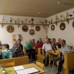 Bei der Jahreshauptversammlung im Schützenheim der Altschützen.