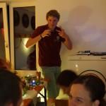 Lukas DJ in seinem Element