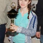 Rita, Gewinnerin des Wanderpokals der Jugend