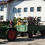 Zwischenstopp beim Dorffest in Wambach
