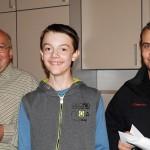 Martin, Platz 5 Schüler 2 - Vereinsmeisterschaft 2015