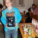 Moritz, Platz 1 beim Preisschießen Jugend