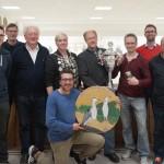 T. Aigner (Schützenkönigin), M.Nitzl jun. (Jubiläumsscheibe), G.Unterreithmeier und A.Wolsky (Championsleague-Sieger) und weitere Preisträger