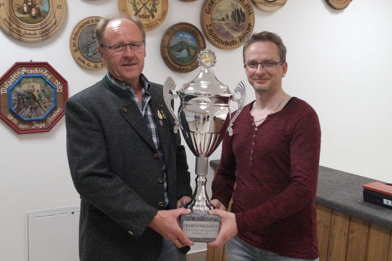 Gewinnerteam der Championsleague 2017: G.Unterreithmeier und A.Wolsky