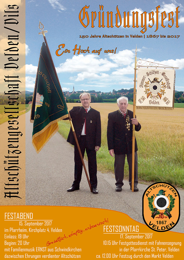 Festabend 150 Jahre Altschützen @ Pfarrheim Velden