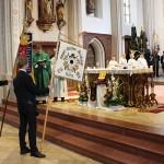 Beim Festgottesdienst in der Veldener Pfarrkirche St. Peter.