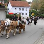 Auch eine Kutsche mit Ehrengästen nahm am Festzug teil.