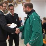 Mit 16 Teilnehmern kamen die Edelweißschützen Hinterskirchen auf Platz 4 in der Meistbeteiligung.