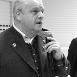 Zweiter Gauschützenmeister P.Söll nahm die Ehrungen der Gauschützenkönige vor.