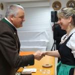A.Lanzinger (Altschützen Velden) belegte Platz 2 in der Wertung Gau-Damenkönigin.