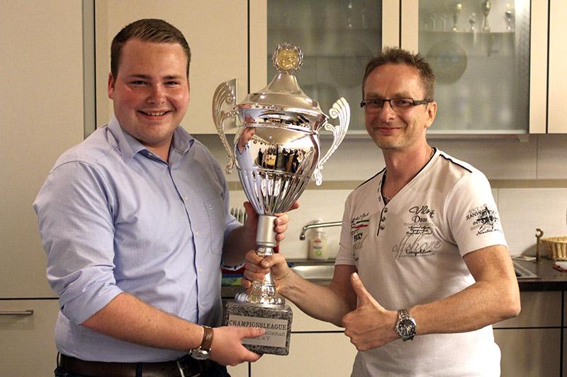 Das Siegerteam der Championsleague 2018 (v.l.): M.Breiteneicher und A.Wolsky