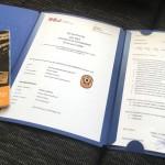 Die Bewerbungsmappe der Altschützen Velden für den H&N Förderpreis umfasste 9 Seiten.