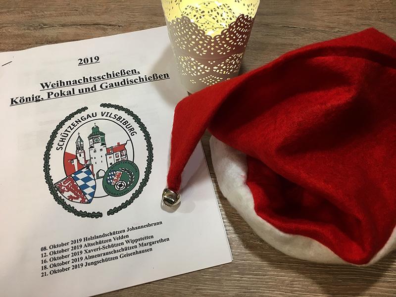 Bei insgesamt fünf Vereinen des Schützengaus Vilsbiburg wurde das Weihnachtschießen, König-, Pokal- und Gaudischießen im Jahr 2019 ausgetragen.
