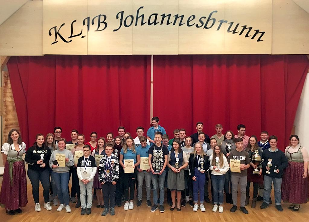 Preisträger der Jugend im Schützengau Vilsbiburg im Jahr 2019